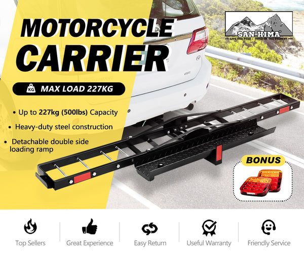 SAN HIMA Motorcycle Carrier Motorbike Rack 2
