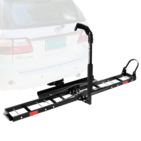 "SAN HIMA Bike Carrier 3 Bicycles Car Rear Rack 2"" TowBar Hitch Mount - Sunyee"