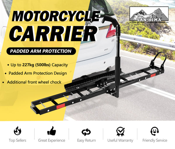 SAN HIMA Bike Carrier 3 Bicycles Car Rear Rack 2