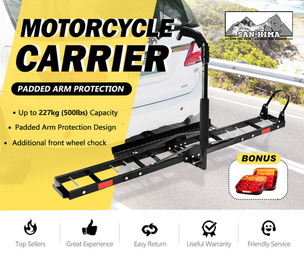 Motorcycle Motorbike Carrier Rack 2