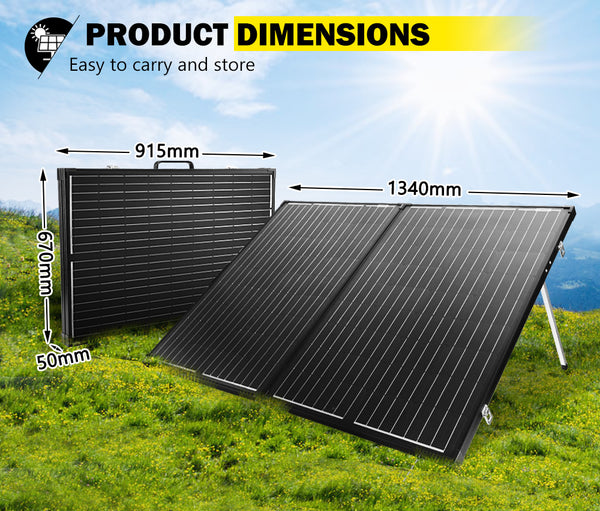 ATEM POWER 250W Folding Solar Panel Kit SUPER LIGHT 12V Mono Flexible - Sunyee