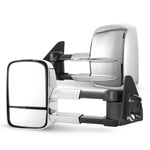 Pair Extendable Towing Mirrors for Toyota Prado 120 Series Wagon - Sunyee