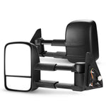 Pair Towing Extendable Mirrors suit Toyota Prado 120 Series Wagon 03 - - Sunyee