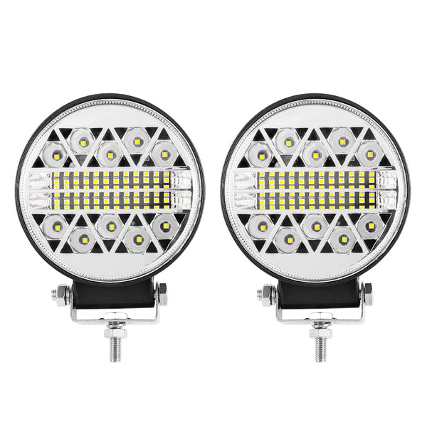 LIGHTFOX 4inch Led Work Light 1LUX @360M IP68 39800 Lumens Per Pair - Sunyee
