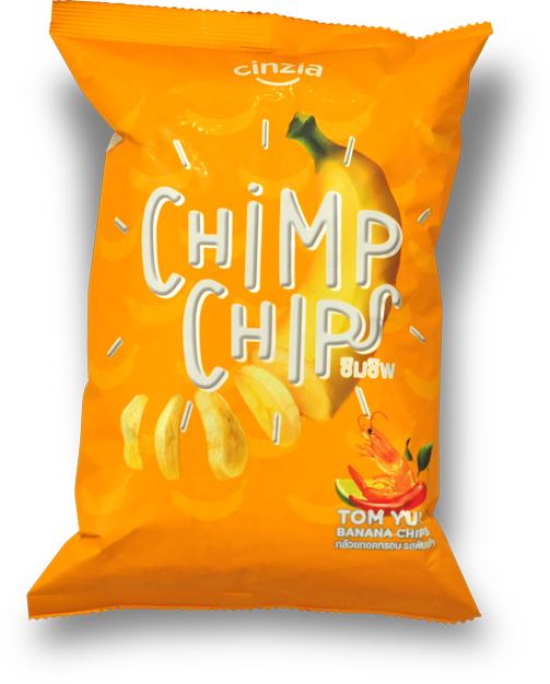 Chimp Chips tom yum flavor