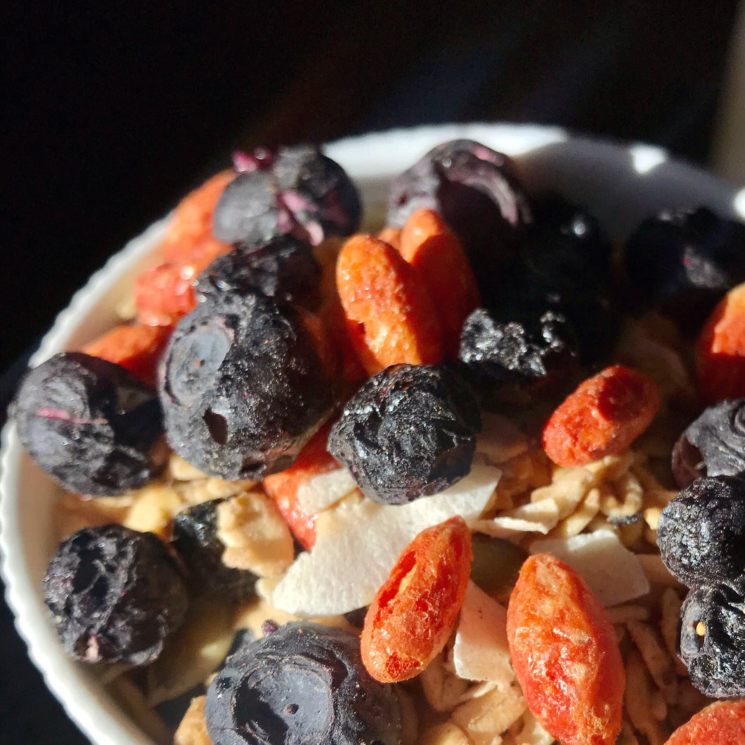 Dr. Granola: 100% Natural with Freeze-Dried Fruits