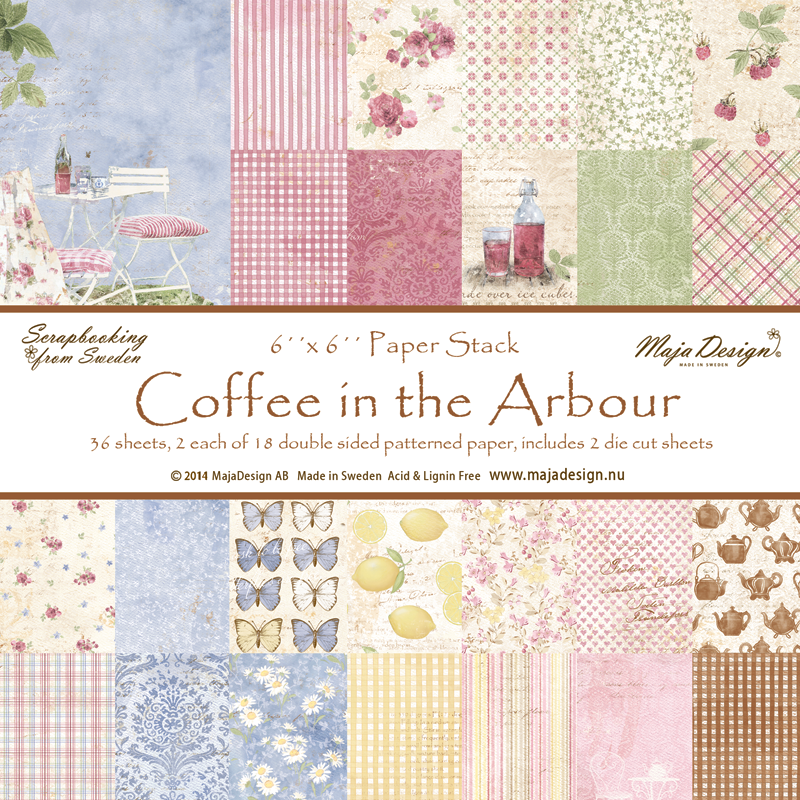 "Maja Design - Coffee in the Arbour - 6x6"" Paper Pack"