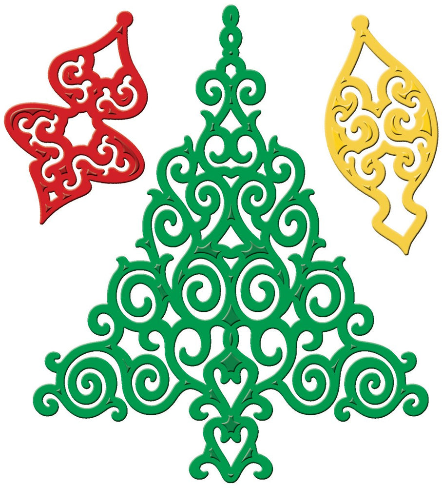 Spellbinders Die - Shapeabilities - Holiday Tree
