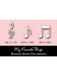MFT Die-namics Die - Musical Notes