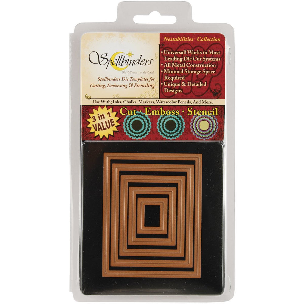 Spellbinders Die - Nestabilities - Classic Rectangle Small