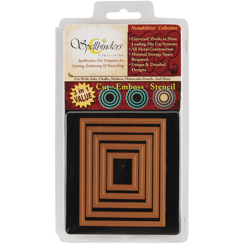 Spellbinders Die - Nestabilities - Classic Rectangle Large