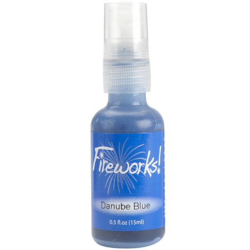 Fireworks Spray - Danube Blue