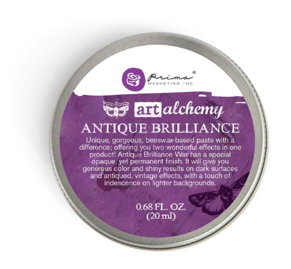 Prima Finnabair - Art Alchemy - Antique Brilliance Wax - Amethyst Magic