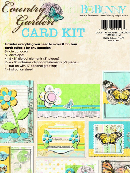 BoBunny - Country Garden - Card Kit