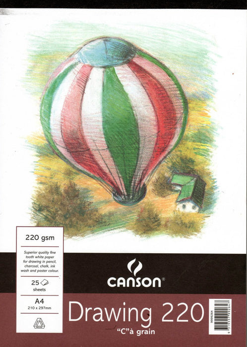 Canson - Drawing 220- A4 White