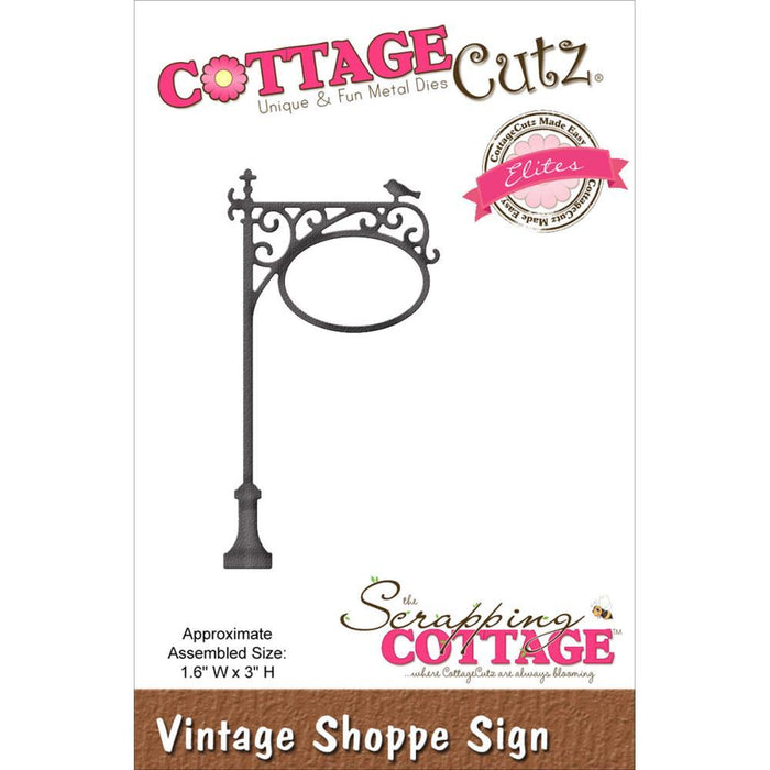 Cottage Cutz - Vintage Shoppe Sign