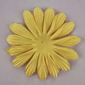 Green Tara - 10cm Petal - Yellow 5pk