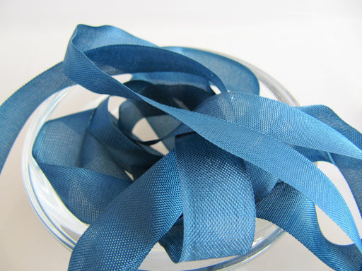 Seam Binding Ribbon - Deep Water Blue