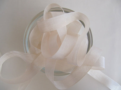 Seam Binding Ribbon - Cameo Beige