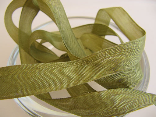 Seam Binding Ribbon - Serbin Brown