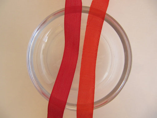 Seam Binding Ribbon - Lipstick Red