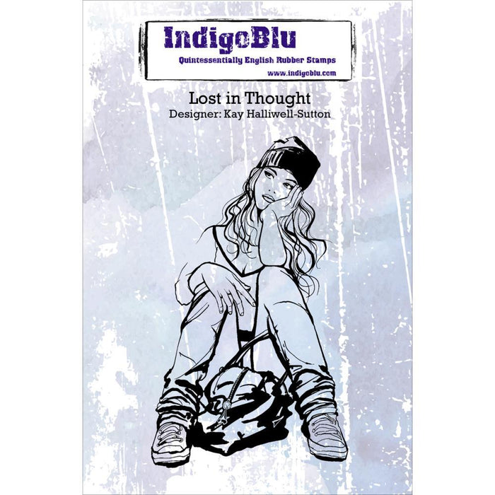 IndigoBlu Cling Mounted - Lost In Thought