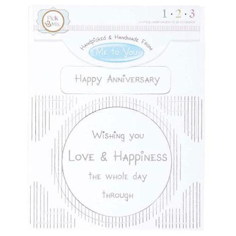 Me To You Card Greeting - Happy Anniversary