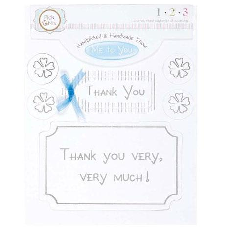 Me To You Card Greeting - Thank You