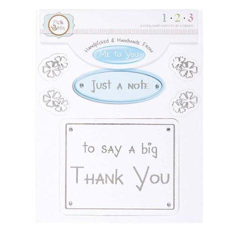 Me To You Card Greeting - A Big Thank You
