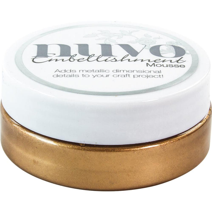 Nuvo - Embellishment Mousse - Cosmic Brown