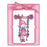 Stampendous Cling Stamp - Pink Your Life - Whisper Friend
