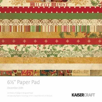 "Kaisercraft - 6.5"" Paper Pad - December 25th"