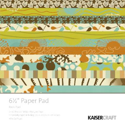 "Kaisercraft - 6.5"" Paper Pad - Rock Pool"