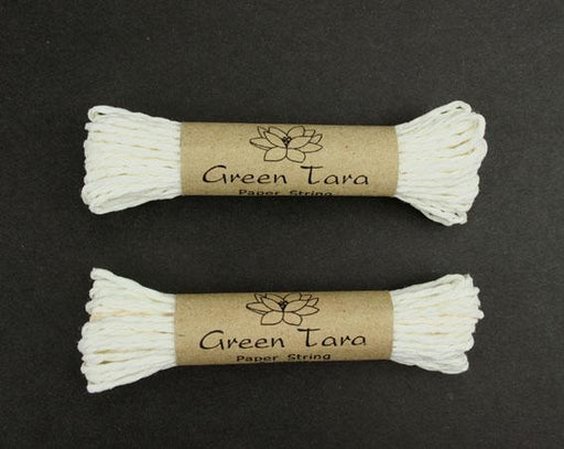 Green Tara Paper String - White 5m