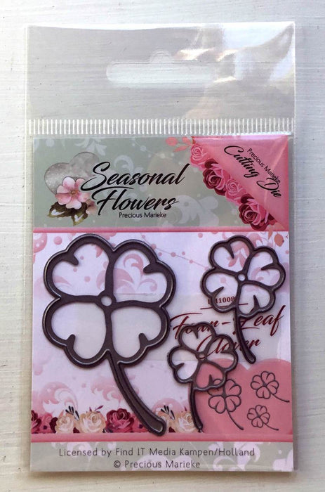 Find It Trading - Precious Marieke - Seasonal Flowers - Four Leaf Clover