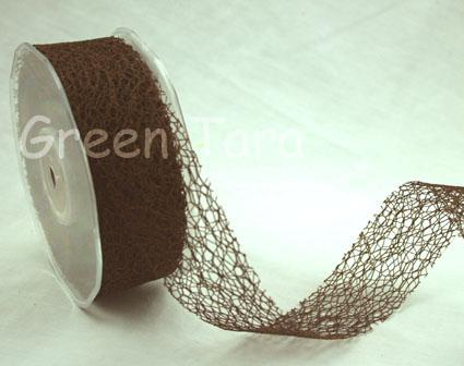 38mm Mesh Dark Brown