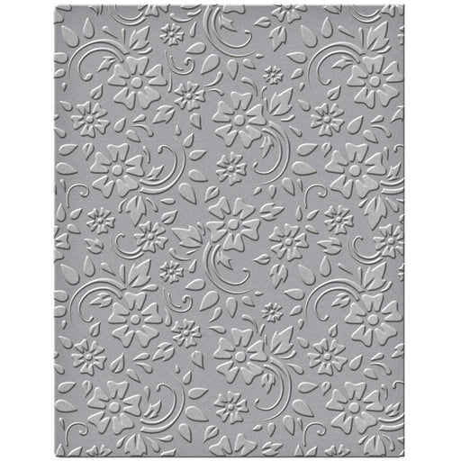 Spellbinders Embossing Folder - Flowers and Leaves