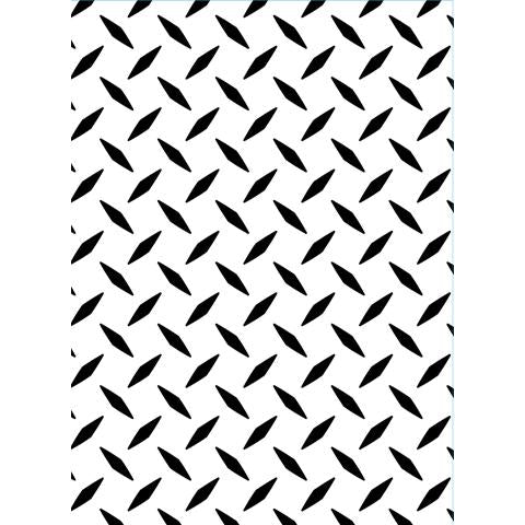 Darice Embossing Folder - Diamond Plate