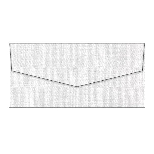 Envelopes DL Coco Linen Blanc / White - 110mm x 220mm