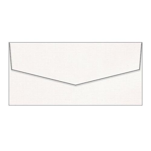 Envelopes DL Coco Linen Ivoire / Ivory - 110mm x 220mm