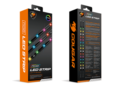 TIRA COUGAR  DE RGB / 15 LEDS - Get Ready Computers