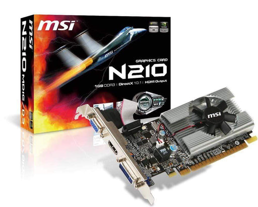 MSI Tarjetas de video Tarjeta de Video MSI Gt 210 1Gb/Ddr3/64Bit