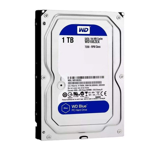 WESTERN DIGITAL BLUE 1TB SATA 3.5P WD10EZEX - Get Ready Computers