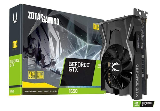 ZOTAC Tarjetas de video Tarjeta De Video Zotac Gtx 1650 Oc 4Gb 128Bit Gddr5 Dvi-D,Hdmi,Dp