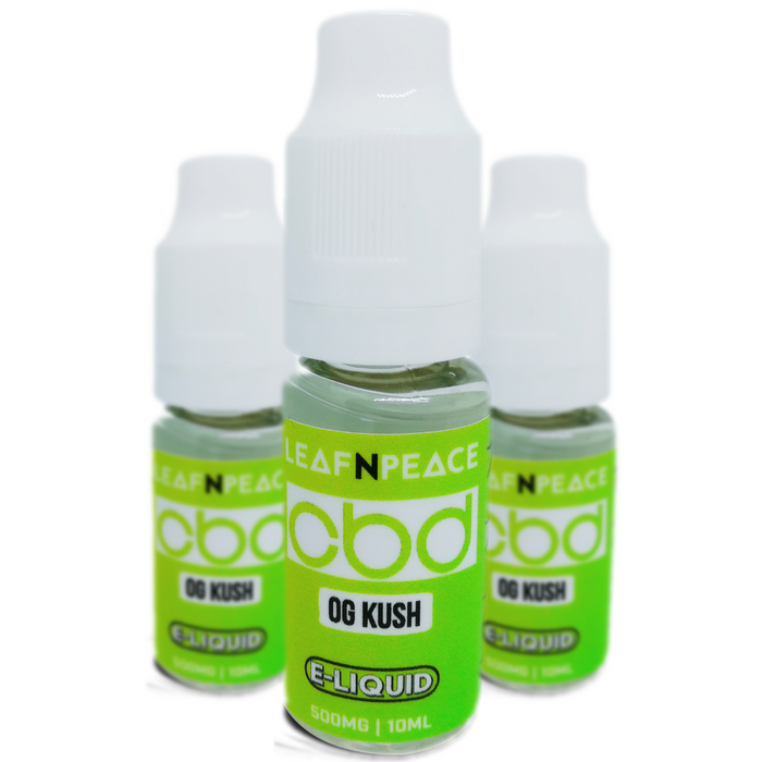 OG Kush - CBD E-Liquid 500mg - Leaf n Peace