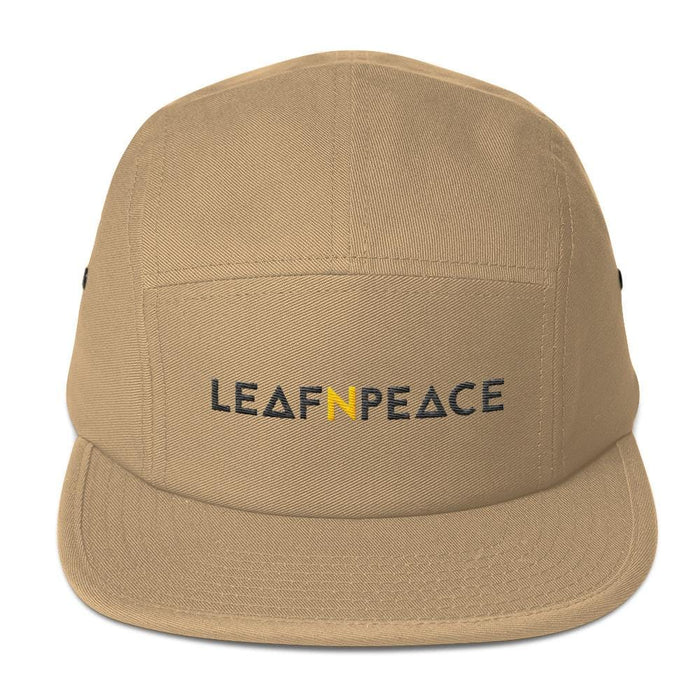 Five Panel Cap - Leaf n Peace