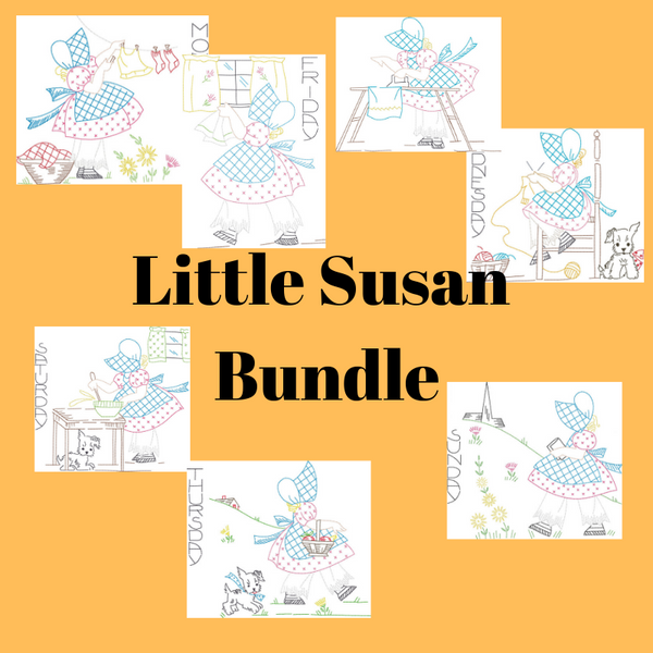 Little Susan Days of the Week Bundle