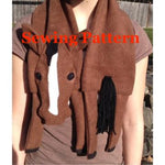 Horse Scarf Sewing Pattern, snugglepuppyapplique.com