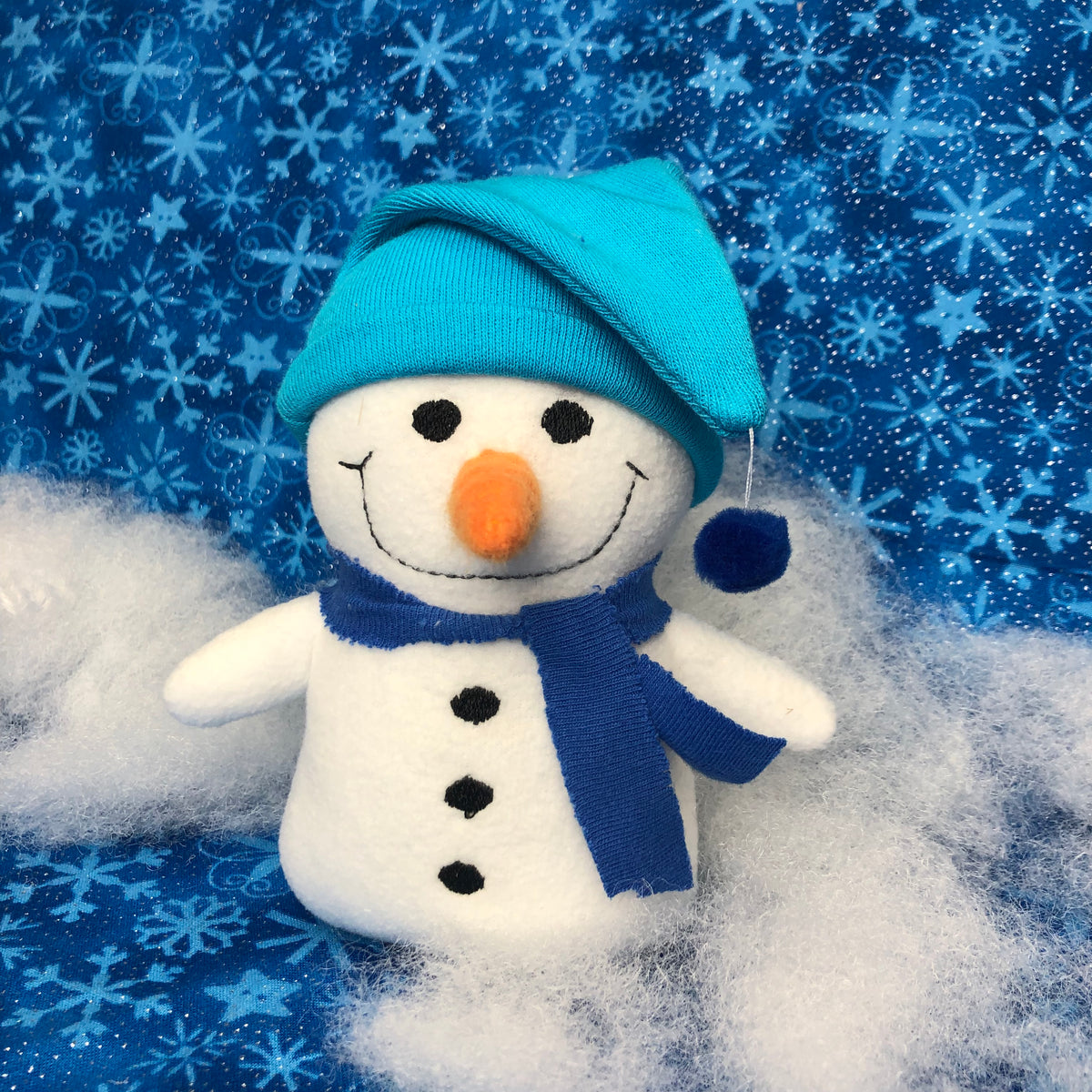 In The Hoop Crispin Everfrost Snowman Stuffy Toy For Use