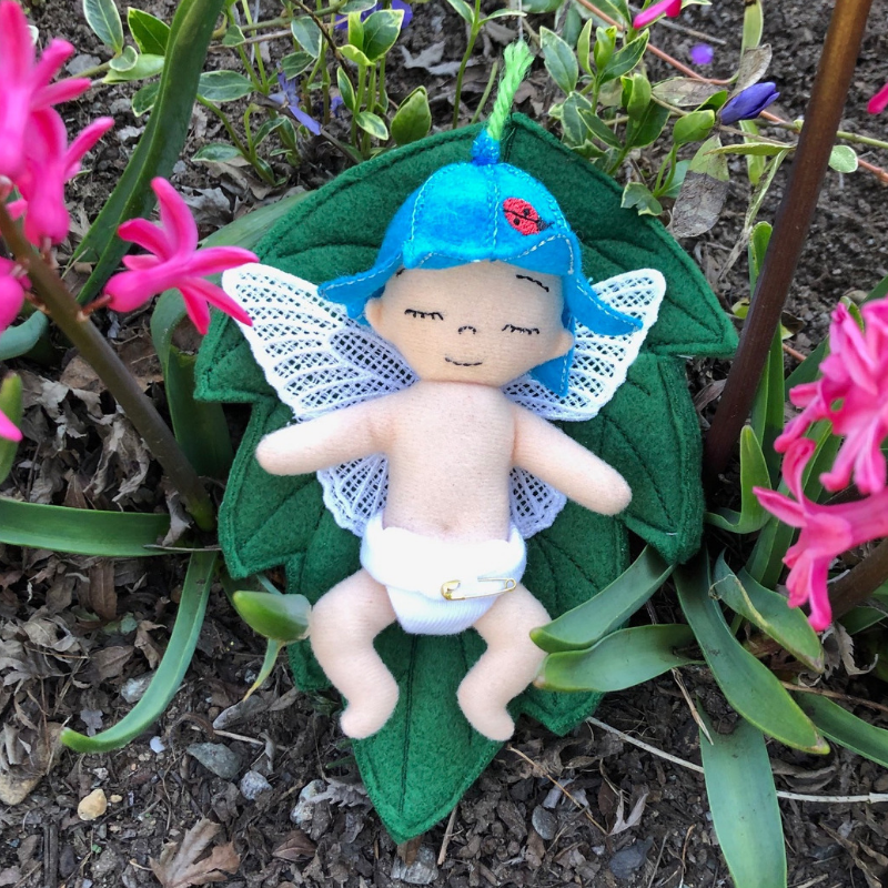 In The Hoop Baby Bluebell Fairy Stuffy For Use With An